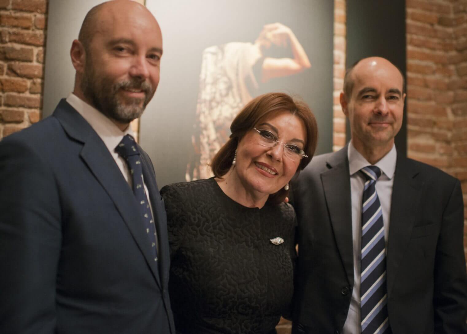 Armando del Rey, Blanca del Rey y Juan Manuel del Rey. – Propietarios del Corral de la Moreria –