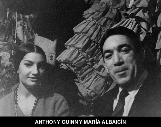 21 - ANTHONY QUINN Y MARÍA ALBAICÍN