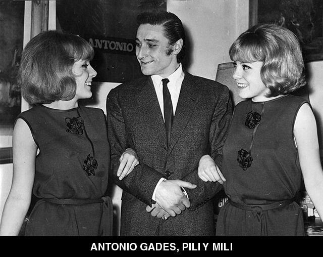 32 - ANTONIO GADES, PILI Y MILI
