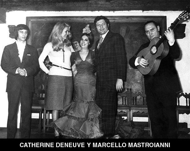 53 - CATHERINE DENEUVE Y MARCELLO MASTROIANNI