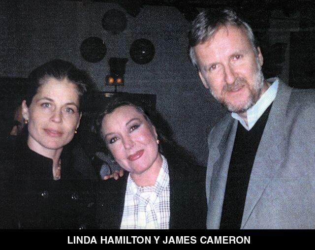 62 - LINDA HAMILTON Y JAMES CAMERON