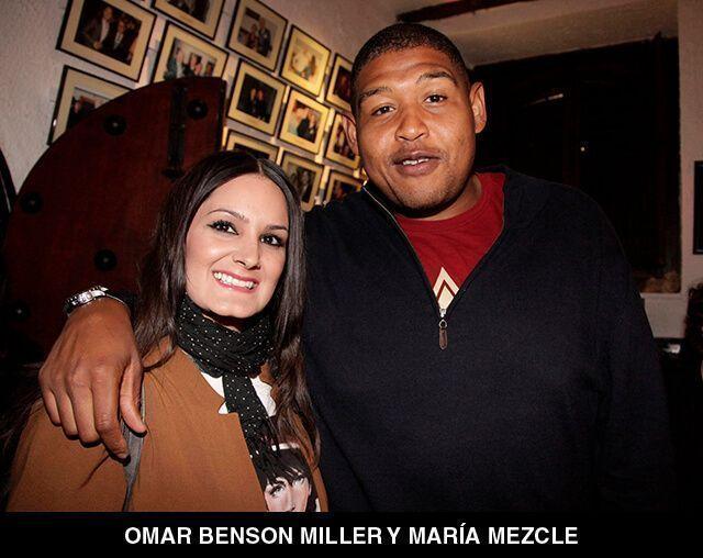 91 - OMAR BENSON MILLER Y MARÍA MEZCLE